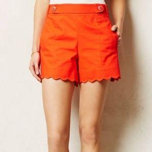 Anthropologie Shorts - Anthropologie Cartonnier Scallop Sailor Shorts 4